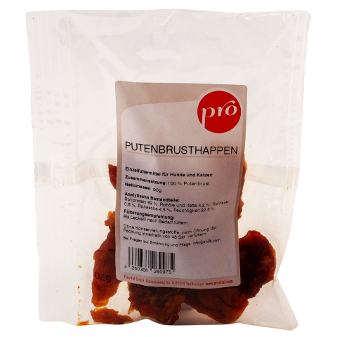 Pro Putenbrusthappen 90g (1 Package)